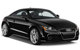 Audi TT Coupe wedding car rent