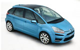 cheap Citroen Picasso 5+2 seater to hire