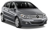 Mercedes B Class Automatic compact car to rent