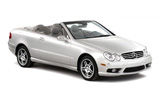 Mercedes CLK Cabriolet Auto wedding car