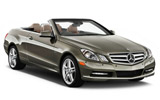 Mercedes E Class Cabriolet wedding car
