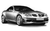 luxury Mercedes SLK 350 to rent