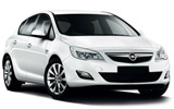 Opel Astra (with Sat nav) economy hire