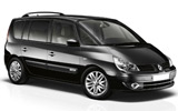 cheap Renault Espace (with Sat nav) to hire