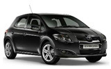 Toyota Auris Hybrid compact car to rent