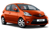 best rate Toyota Aygo Automatic