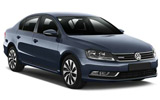 cheap Volkswagen Passat (with Sat nav) to hire