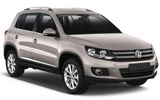 cheapest Volkswagen Tiguan (with Sat Nav)