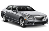 Mercedes E Class Automatic wedding car rent