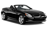 luxury Mercedes SLK convertible